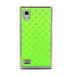 Drahokamové pouzdro pro LG Optimus L9 P760- zelené - 3/7