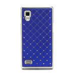 Drahokamové pouzdro pro LG Optimus L9 P760- modré - 3/7