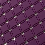 Drahokamové pouzdro pro Samsung Trend plus, S duos- fialové - 3/4