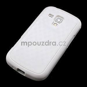 Plastogelové pouzdro na Samsung Galaxy Trend, Duos- bílé - 3