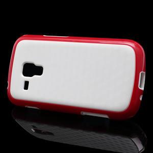 Plastogelové pouzdro na Samsung Galaxy Trend, Duos- červené - 3