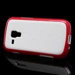 Plastogelové pouzdro na Samsung Galaxy Trend, Duos- červené - 3/5