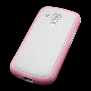 Plastogelové pouzdro na Samsung Galaxy Trend, Duos- růžové - 3