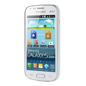 Plastové pouzdro na Samsung Trend plus, S duos - žluté kníraté - 3