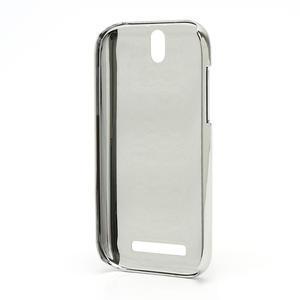 Drahokamové pouzdro pro HTC One SV-fialové - 3