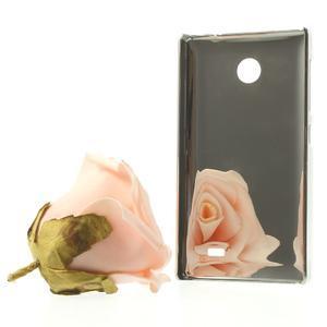 Drahokamové pouzdro na Nokia X dual- růžové - 3