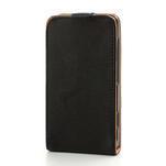Flipové černé pouzdro na Nokia Lumia 520 - 3/7