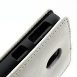Flipové pouzdro na Nokia Lumia 620- bílé - 3/5