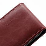 Flipové pouzdro na Nokia Lumia 620- červené - 3/5