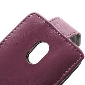 Flipové pouzdro na Nokia Lumia 620- růžové - 3