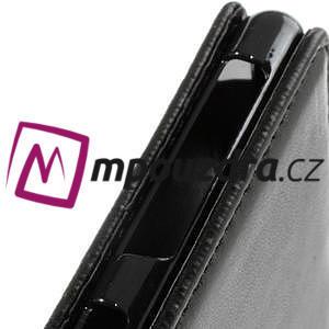Flipové pouzdro na Sony Xperia Z1 C6903 - černé - 3