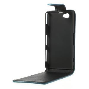 Flipové pouzdro na Sony Xperia Z1 Compact D5503- modré - 3