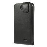 Flipové Cover PU kožené pouzdro na HTC Desire 310- černé - 3/6