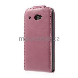 Flipové pouzdro pro HTC Desire 601- růžové - 3