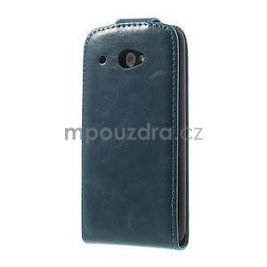 Flipové pouzdro pro HTC Desire 601- modré - 3