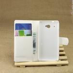 Peněženkové pouzdro pro HTC Desire 601- bílé - 3/7