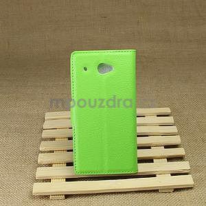 Peněženkové pouzdro pro HTC Desire 601- zelené - 3