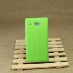 Peněženkové pouzdro pro HTC Desire 601- zelené - 3/6