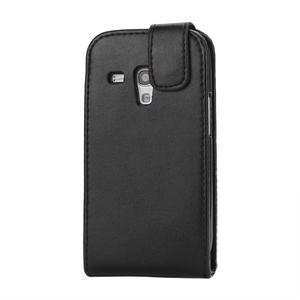 Flipové pouzdro pro Samsung Galaxy S3 mini i8190- černé - 3