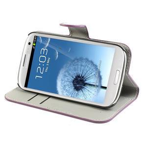 Peněženkové pouzdro na Samsung Galaxy S3 i9300- meteor - 3