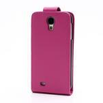 Flipové pouzdro pro Samsung Galaxy S4 i9500- růžové - 3/5