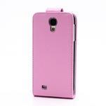 Flipové pouzdro pro Samsung Galaxy S4 i9500- světle-růžové - 3/5