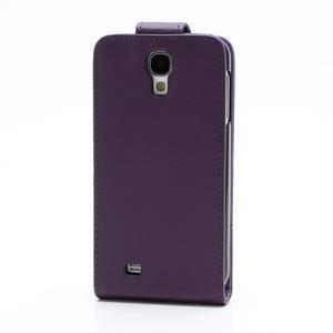 Flipové pouzdro pro Samsung Galaxy S4 i9500-fialové - 3