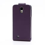 Flipové pouzdro pro Samsung Galaxy S4 i9500-fialové - 3/5