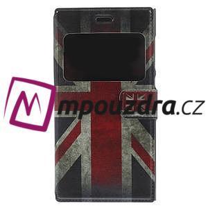 Flipové pouzdro na Xiaomi Mi3- UK vlajka - 3