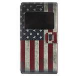 Flipové pouzdro na Xiaomi Mi3- USA vlajka - 3/7