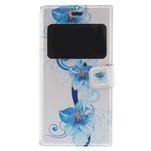 Flipové pouzdro na Xiaomi Mi3- modrá lilie - 3/7