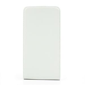 Flipové PU kožené pouzdro na Samsung Galaxy Note 3- bílé - 3