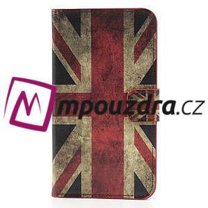 Peněženkové pouzdro na Samsung  Galaxy Note 3- UK vlajka - 3