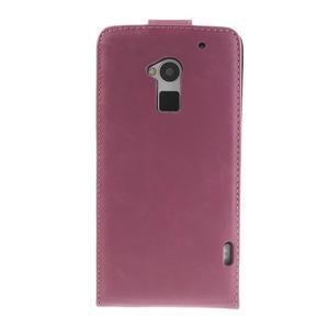 Flipové pouzdro HTC one Max- růžové - 3