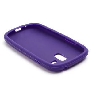 Silikonové PNEU pro Samsung Galaxy S3 mini i8190- fialové - 3