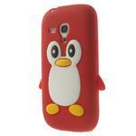 Silikonový TUČŃÁK pouzdro na Samsung Galaxy S3 mini i8190- červený - 3/7