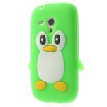 Silikonový TUČŃÁK pouzdro na Samsung Galaxy S3 mini i8190- zelený - 3/7