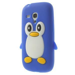 Silikonový TUČŃÁK pouzdro na Samsung Galaxy S3 mini i8190- modrý - 3