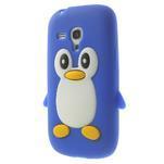 Silikonový TUČŃÁK pouzdro na Samsung Galaxy S3 mini i8190- modrý - 3/7