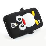 Silikon 3D TUČŇÁK pro Samsung Galaxy S4 mini i9190- černý - 3/5