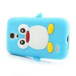 Silikon 3D TUČŇÁK pro Samsung Galaxy S4 mini i9190- světlemodrý - 3/6
