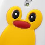 Silikonový Tučňák pouzdro pro Samsung Galaxy S4 i9500- bílý - 3/6