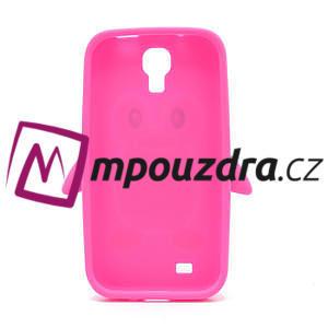 Silikonový Tučňák pouzdro pro Samsung Galaxy S4 i9500- růžový - 3