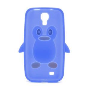 Silikonový Tučňák pouzdro pro Samsung Galaxy S4 i9500- modrý - 3