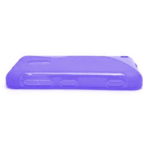 Gelové S-line pouzdro na Nokia Lumia 620- fialové - 3