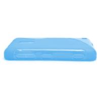 Gelové S-line pouzdro na Nokia Lumia 620- modré - 3/5