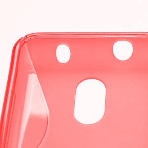 Gelové S-line pouzdro na Nokia Lumia 620- červené - 3