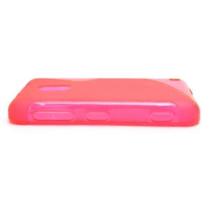 Gelové S-line pouzdro na Nokia Lumia 620- růžové - 3