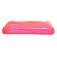 Gelové S-line pouzdro na Nokia Lumia 620- růžové - 3/5