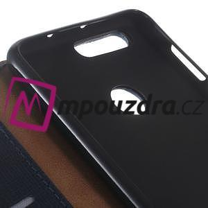 Clothy peněženkové pouzdro na mobil Honor 8 - tmavěmodré - 3